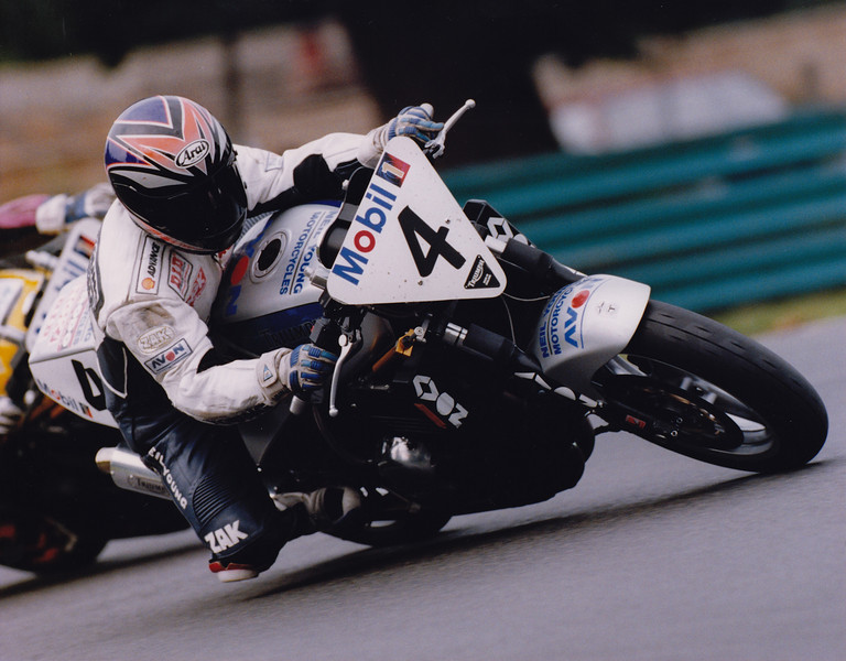 Mobil 1 Triumph Speed Triple Challenge. Oulton Park 1996. Neil Young Motorcycles