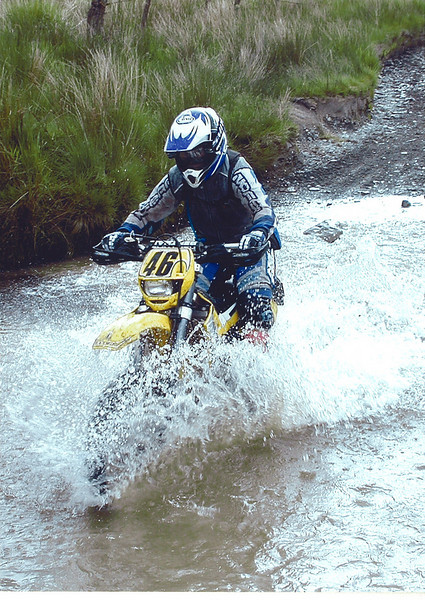 Welsh 2-Day Enduro 2002. Gas Gas EC200