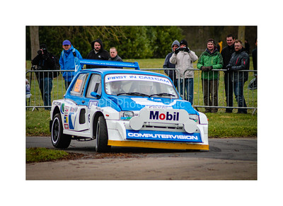 MG Metro 6R4 Cornering Hard