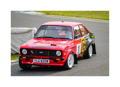 Ford Escort Mk2 on the stage