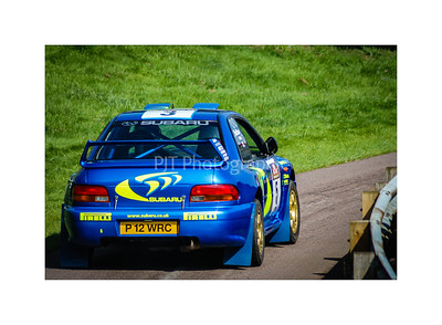 Subaru Impreza WRC97 on stage