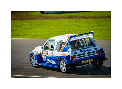 MG Metro 6R4 on stage