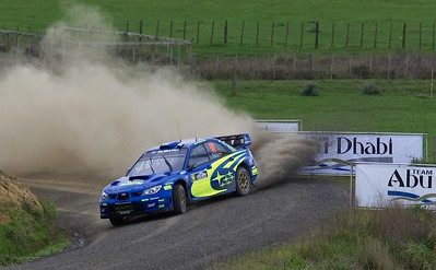 2007 Rally NZ - Day2 - SS6,8,11