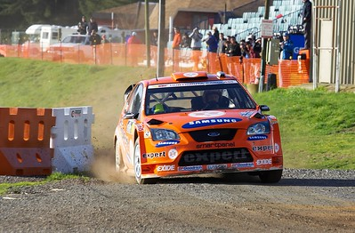 2007 Rally NZ - Shakedown and Service park