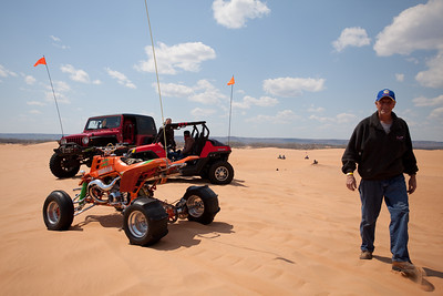 Sand Car Shoot - Day 1