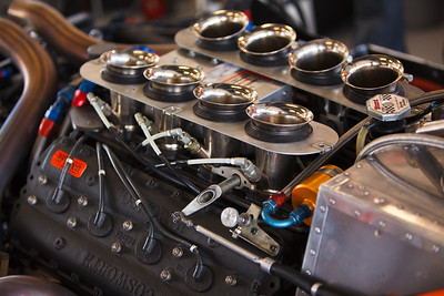 Cosworth McLaren V8 engine