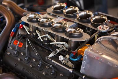 Cosworth McLaren V8 engine