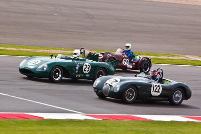 RGS Atlanta (23), Cooper T24/25 (60), Jaguar (122)