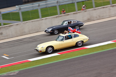 Guinness World Record - Jaguar E Type - 50th Anniversary