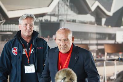 Sir Stirling Moss & Nick Wigley