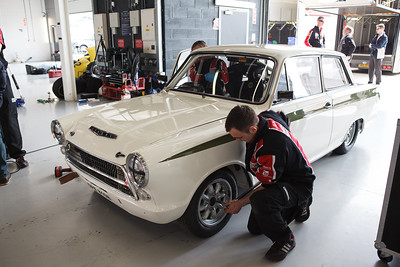 Matt Neal's Lotus Cortina