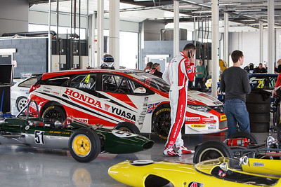 Matt Neal's BTCC Honda Civic Tourer