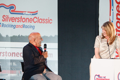 Louise Goodman & Sir Stirling Moss