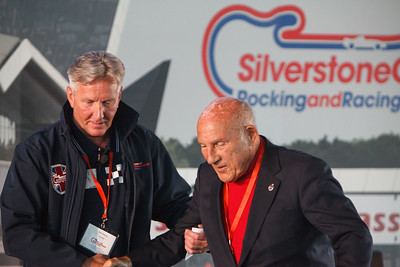 Sir Stirling Moss & Nick Wigley