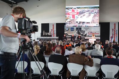 Silverstone Classic 2014 media presentation