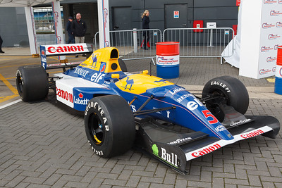 Nigel Mansell's Williams FW14B