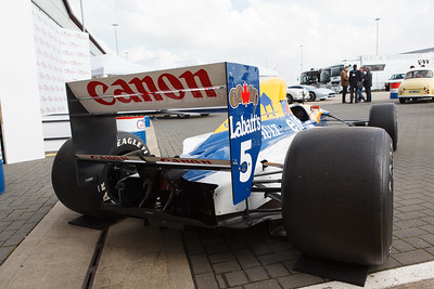Nigel Mansell's Williams FW14B