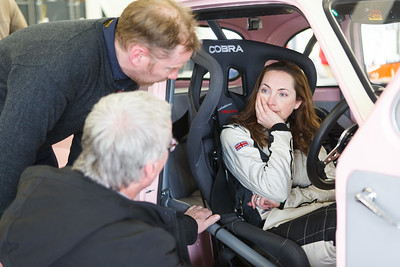 Holly Mason-Franchitti chats with Steve Soper