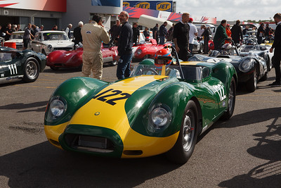 Tiff Needell in a 2016 Lister Jaguar Knobbly