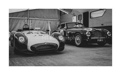 Cooper Monaco T61M and Aston Martin DB2