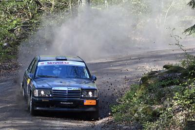 #18 - Tommy Johansson, Tjust MK - Mercedes 190E
