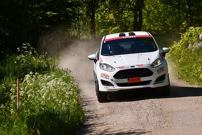 #1 Oscar Ljung, Simrishamns MK, Ford Fiesta R2T
