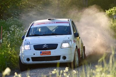 #22 Jonas Bodin, Grödinge MK, Citroën C2 R2