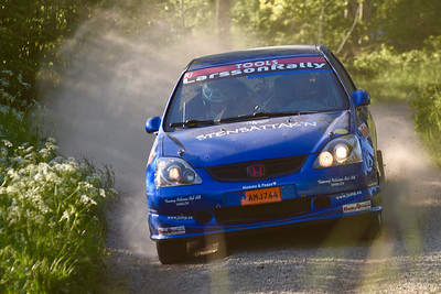 #3 Hampus Larsson, Kristianstads MK, Honda Civic Type R
