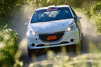 #6 Anton Eriksson, SMK Sundsvall, Peugeot 208