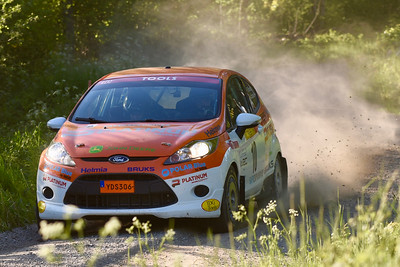 #10 Dennis Rådström, Östmarks MFF, Ford Fiesta R2