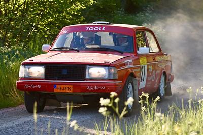 #27 Mikael Wallon, Kolsva MS, Volvo 242
