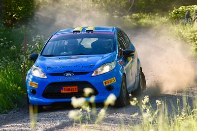 #14 Eddie Lundqvist, Sandvikens MK, Ford Fiesta R2