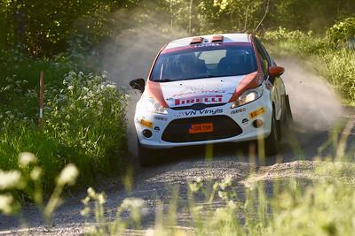 #9 Jari Liiten, Sandvikens MK, Ford Fiesta R2