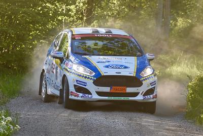 #16 Daniel Röjsel, SMK Dala Falun, Ford Fiesta R2T