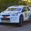 #42 Anders Karlsson, Säffle MC, Mitsubishi Mirage - Tappar höger bakhjul