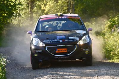 #5 Jonna Eson Brådhe, Haninge MK, Peugeot 208 R2