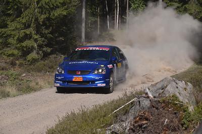 #3 Hampus Larsson, Kristianstads MK, Honda Civic Type R