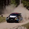 #40 Frank Tore Larsen, Norge - Ford Fiesta R5.