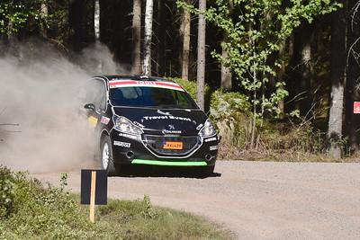 #19 Johnny Andersson, SMK Hedemora, Peugeot 208 R2
