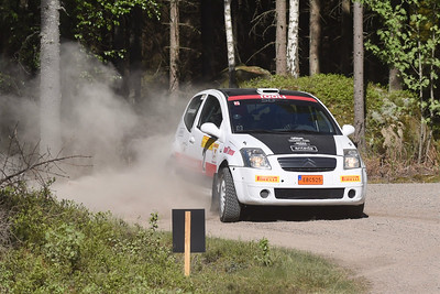 #2 Samuel Gustavsson, SMK Valdemarsvik, Citroën C2 R2 Max