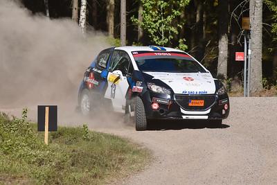 #13 Elias Lundberg, SMK Sala, Peugeot 208 R2