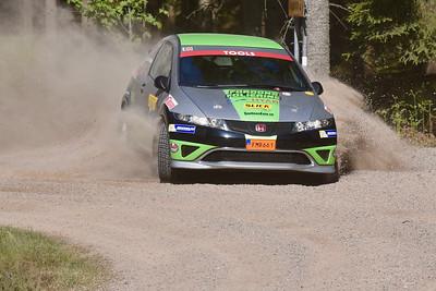 #18 Emrik Smedberg, Wäxjö MS, Honda Civic Type-R