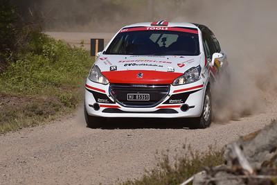 #12 Steve Røkland, KNA Kongsvinger, Peugeot 208 R2