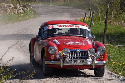 #306 – Ingemar Bjerkborn / Simon Bjerkborn - MG A Coupé