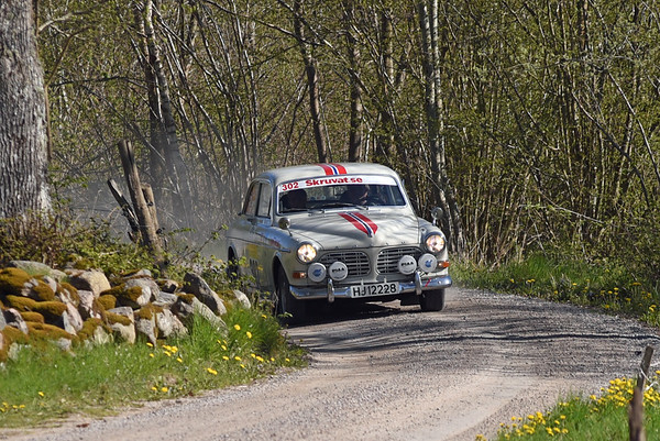 South Swedish Rally Regularity 2016 - SS2 & SS4