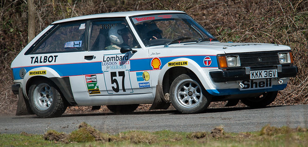 Car 57: John Taylor / TBA, Sunbeam Talbot