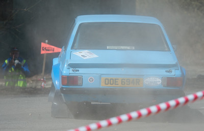 Car 48: Maurice May / Adam Quinn, Ford Escort