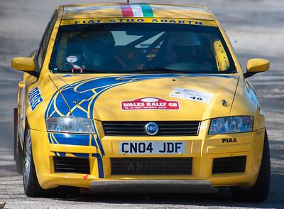 Car 49: Wayne Loveland / Michael Ellis, Fiat Arbarth Stilo