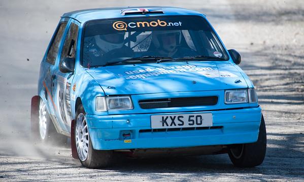 Car 63: Ken Sturdy / Richard Wood, Vauxhall Nova