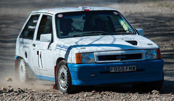 "Car 71: Neville ""Let's rock"" Hudd / Adrian May, Vauxhall Nova GTE"